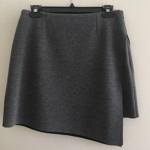 Trouvé Jersey faux wrap skirt